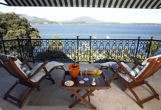 Con vistas al lago Maggiore.