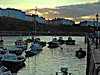 Sunset in #Tenby