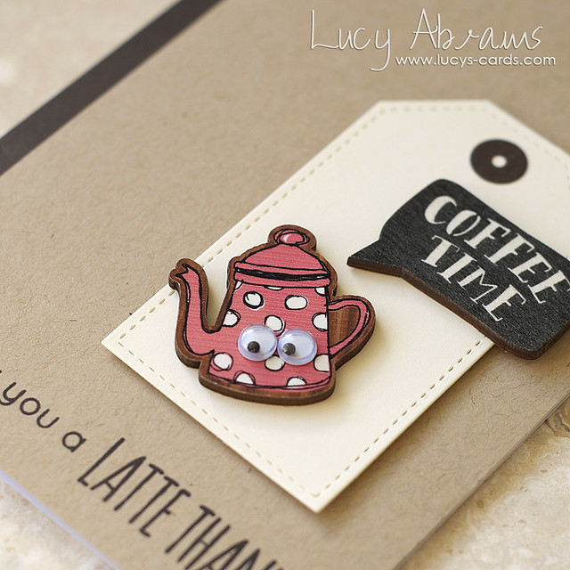sending a latte thanks 2 - Lucy Abrams