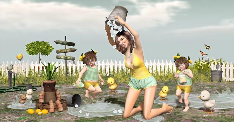 """Amelie et ls petites: Episode """"Ice Bucket Challenge"""""""