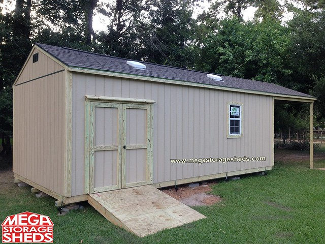Two-Story Storage Shed