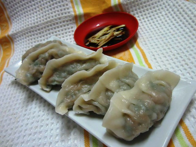 Dumplings from Annie-Q's brother 2
