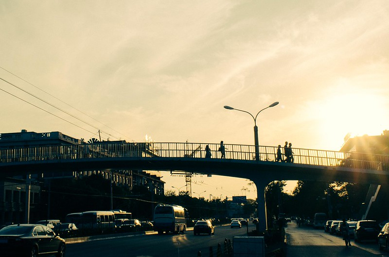 38/365: Sky Bridge at Dusk