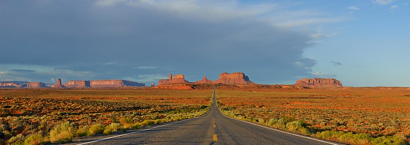 Road US 163 - Monument Valley