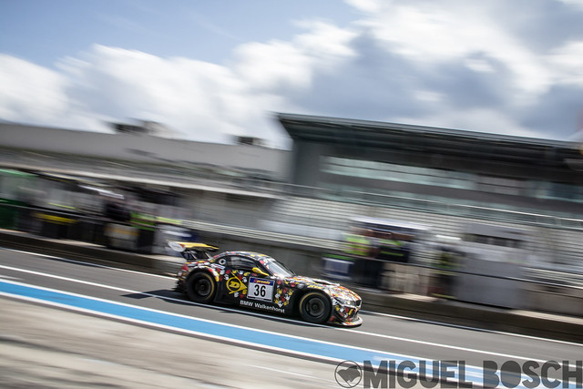 VLN. Round 7 6h ADAC Ruhr-Pokal-Rennen at the Nürburgring 23 August 2014