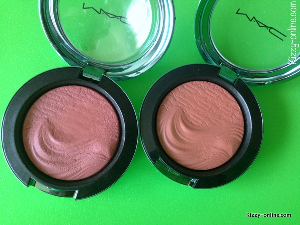 MAC Cosmetics Extra Dimension Blushes Alluring Aquatic Collection Sea Me Hear Me Seduced at Sea
