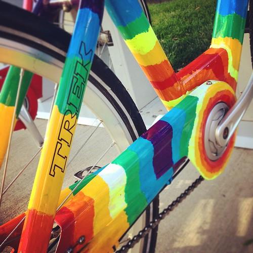 Rainbow Bcycle