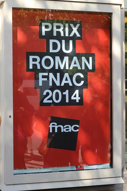 Prix du Roman Fnac 2014