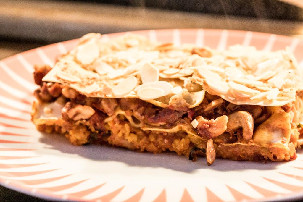Cashew Pumpkin Lasagna