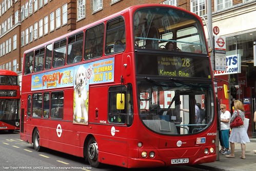 Tower Transit VNW32418, LK04JCJ Seen here in Kensington Phillimore Gardens