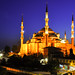 The Blue Mosque in Istanbul by KayYen