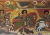 Painting Of St George In Ora Kidane Merhet Church, Bahir Dar, Ethiopia