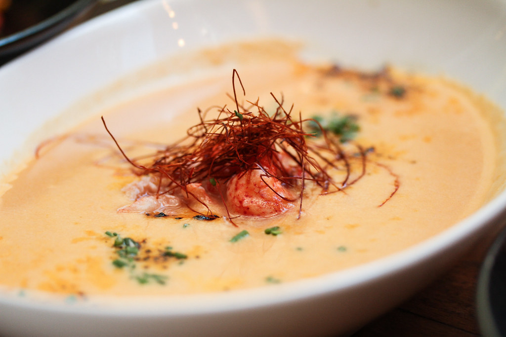 Platypus Lobster Shack: Urchin & Lobster Bisque