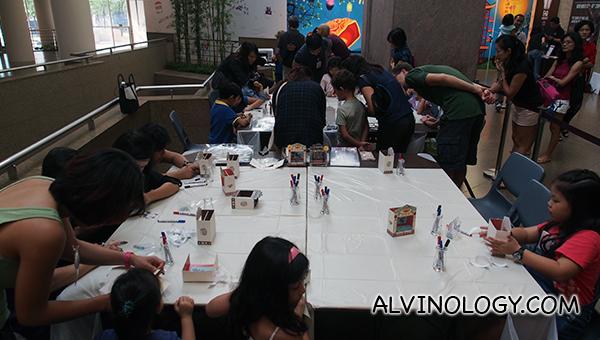 Free lantern making workshop