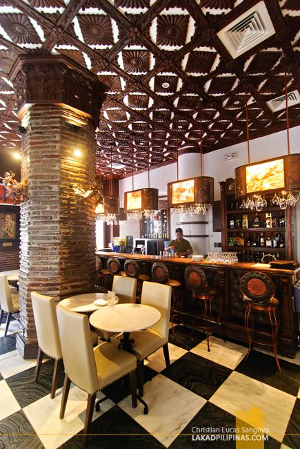 Bar at Hotel Luna in Vigan
