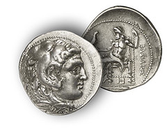 Tetradrachm on Areus I