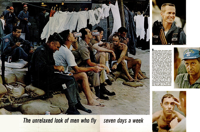 LIFE Magazine  9 Sept 1966 (3) - The unrelaxed look of men who fly sevendays a week