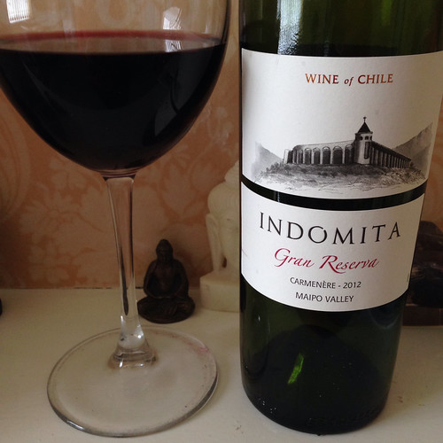 Indomita, Gran Reserva, Carmenere 2012, Maipo Valley. Red wine. Chilean wine. Wine. Chile.