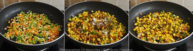How to make paneer fried rice - Step2