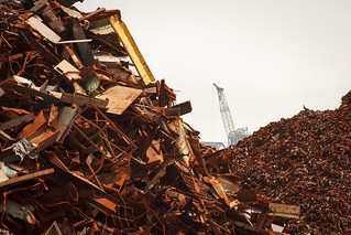 scrap metal demolition