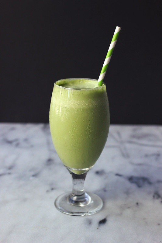 Creamy Power Greens Smoothie
