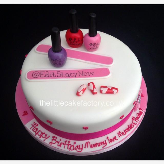 Nail Art Cake Nails Acrylic OPI File Tips Colour