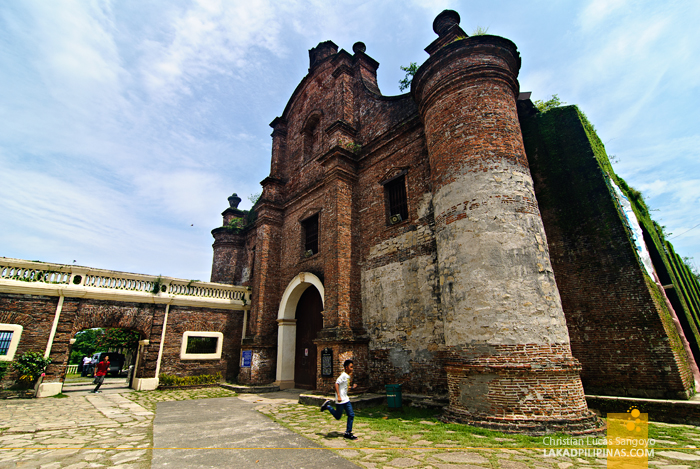 Facade of Santa Maria Church in Ilocos Sur