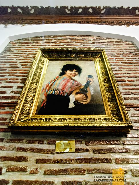 Juan Luna's La Mandolinera at Hotel Luna in Vigan