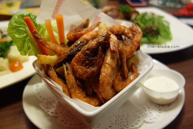 Firecracker Soft Shell Prawns ($8.90)