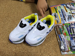 新幹線プラレールの靴