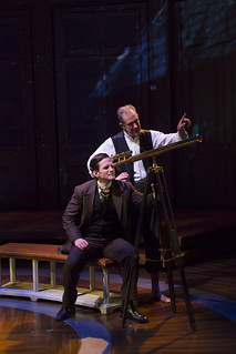 Tom Paxton and William Youmans in Elizabeth Egloff's provocative medical thriller ETHER DOME directed by Michael Wilson, playing Oct. 17 - Nov. 23, 2014 at the South End / Calderwood Pavilion at the BCA. Photo: T. Charles Erickson