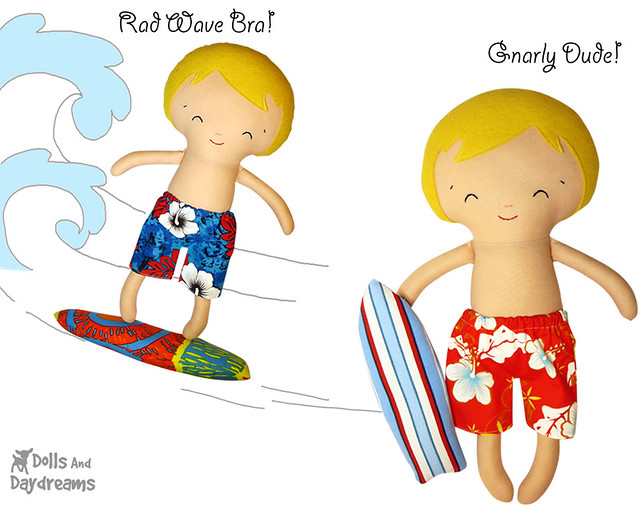 Surfer Sewing Pattern
