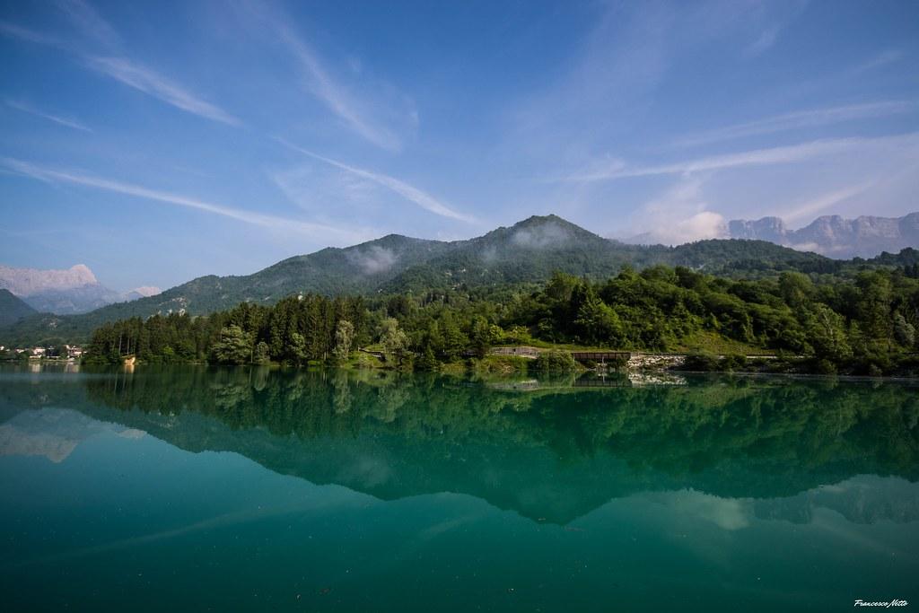 Riflessi sul lago di Barcis