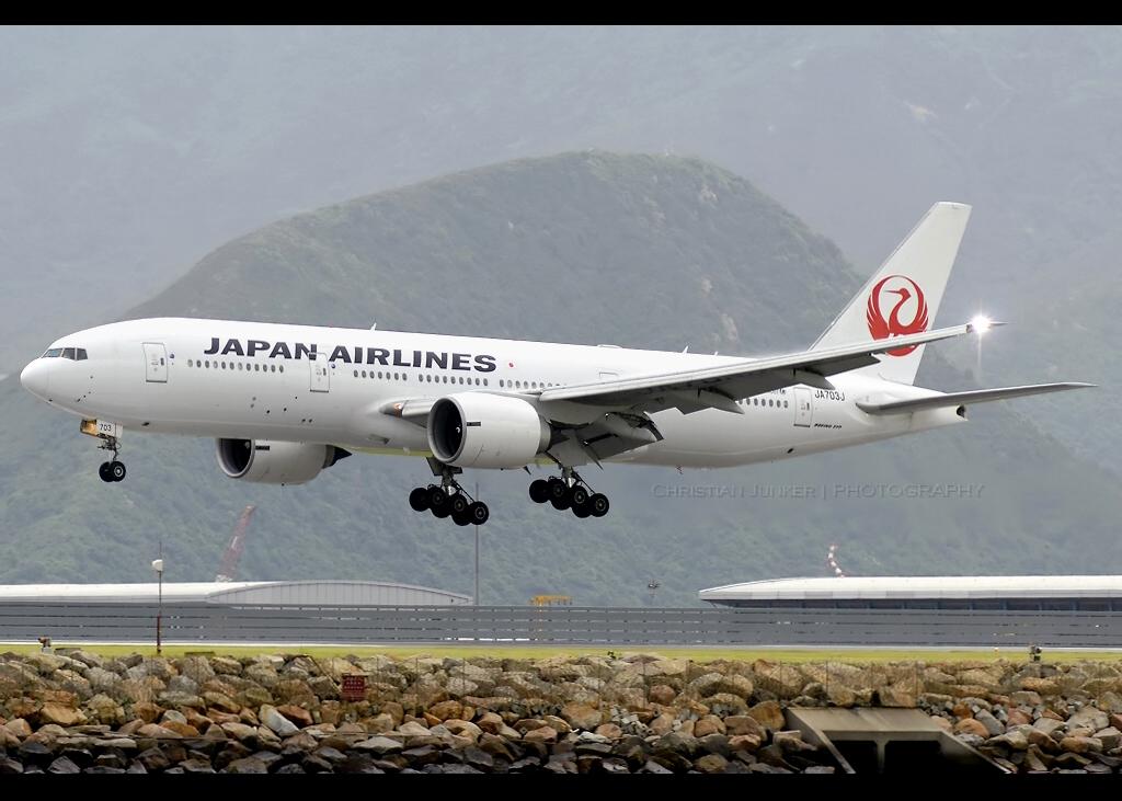 Boeing | 777-246/ER | Japan Airlines | JA703J | Hong Kong | HKG | VHHH