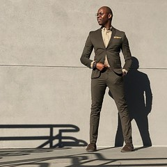 ________298.                     surface additions that don't add to the story    Cotton Stretch Suit / @HM Canvas Shirt / @Gap  Cotton Pocket Square / @TiesDotCom Double Monk Suede Shoes / @KennethCole Leather Belt / @Gap  Bracelets / @OurSaints Abbott G