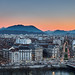 Crépuscule Grenoble by jerome382