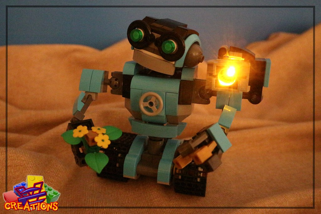 Robot Explorer 31062 – MOC Evolution 1.0 (custom built Lego model)