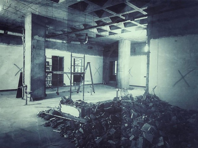 Renovation #renovation #hermanbwellslibrary