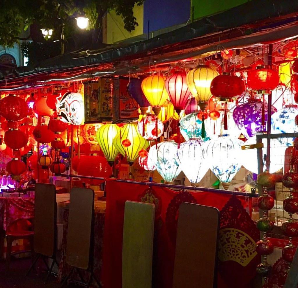 Cada barrio en Singapur tiene su encanto... #chinatown