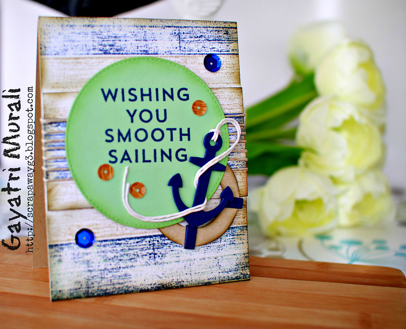 Wishing you smooth sailing