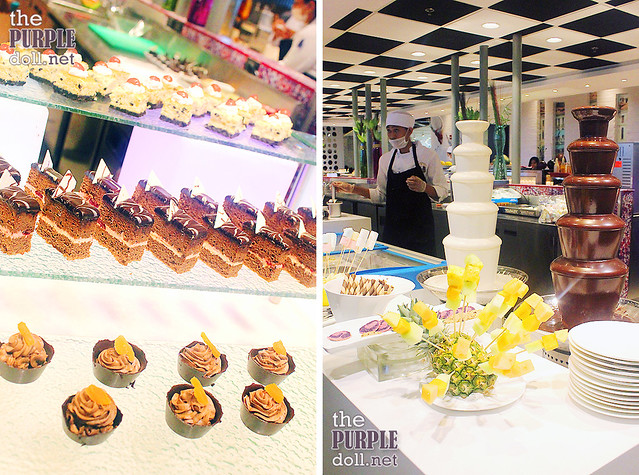 Minicakes and Chocolate Fondue Vikings SM Megamall