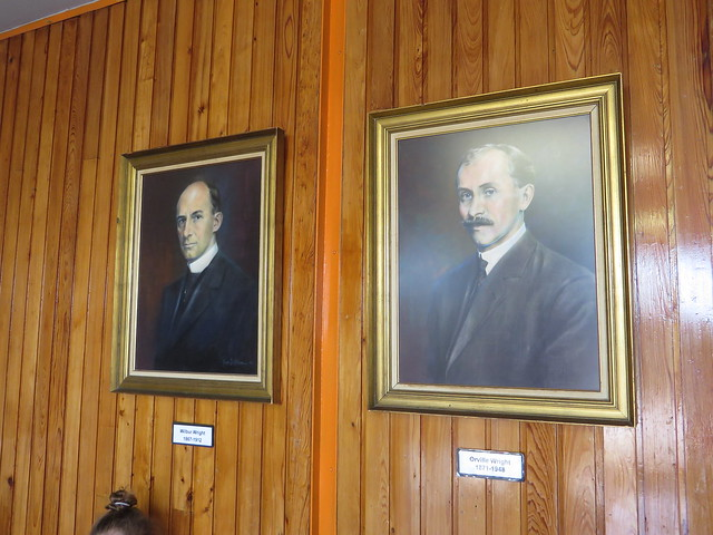 Wilber and Orville Wright, Wright Brothers National Memorial Visitor Center, Kill Devil Hills, North Carolina