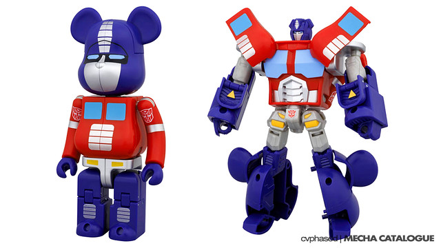 Be@rbrick x Transformers Optimus Prime - AmiAmi Preview