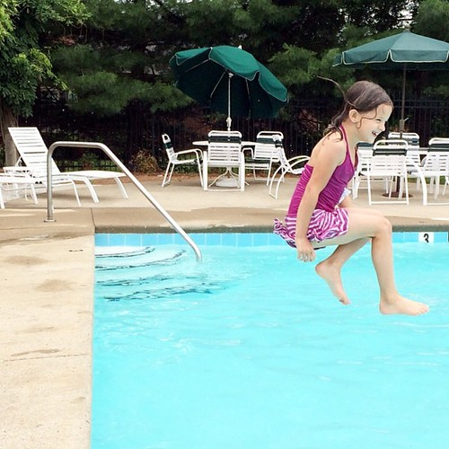 It's her summer to grow in confidence in the water.