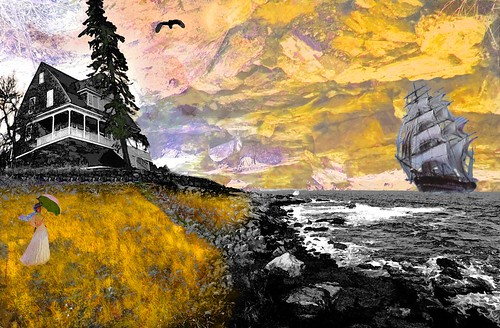 ocean sea house color bird grass yellow composite museum lady clouds umbrella photoshop idea yahoo google nice flickr waves sailing ship view image wind walk quality maine sails manipulation filter national captain montage saturation wait imagination hue geographic bing clipper seacoast blend facebook manipulate stumbleupon daum widdow