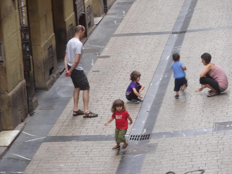 Jumping rope, San Sebastian.
