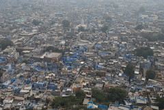 India: Jodhpur - The blue city