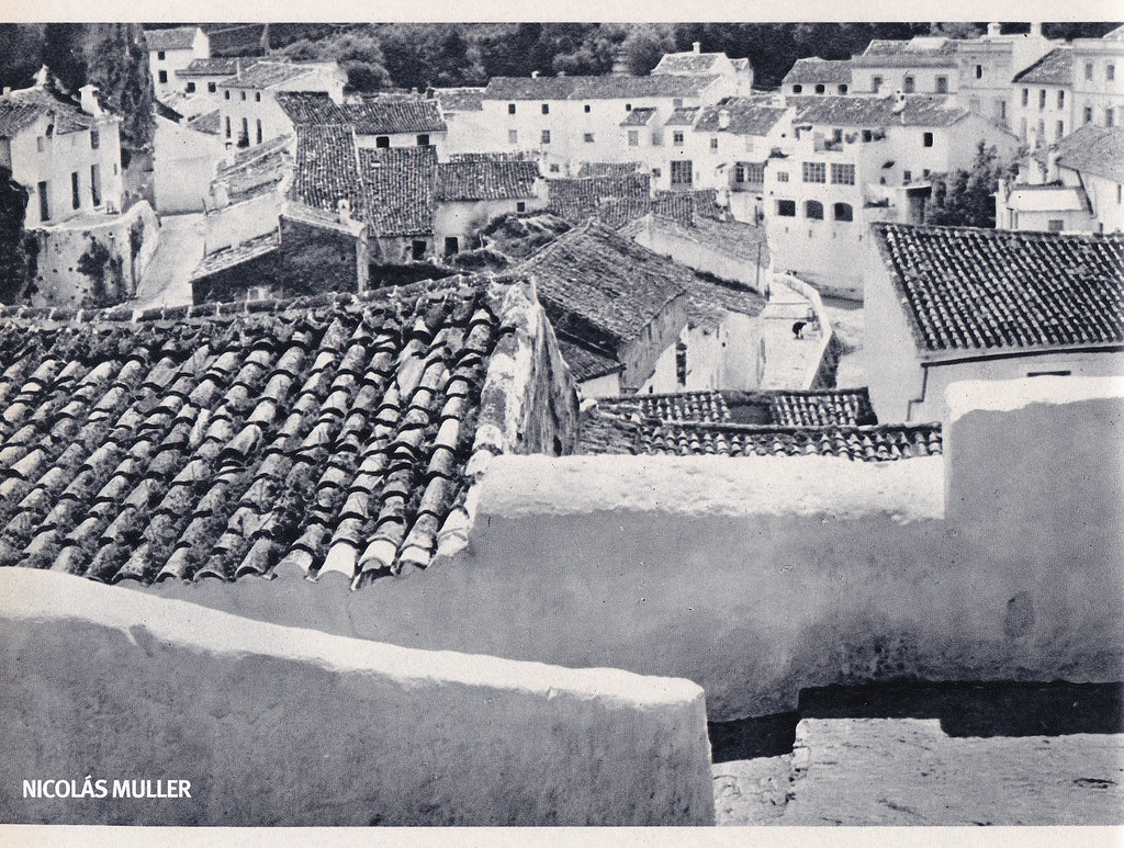 """Fotografía de Nicolás Muller incluida en el libro """"Andalucía"""" (Editorial Clave, 1968), con textos de Fernando Quiñones."""