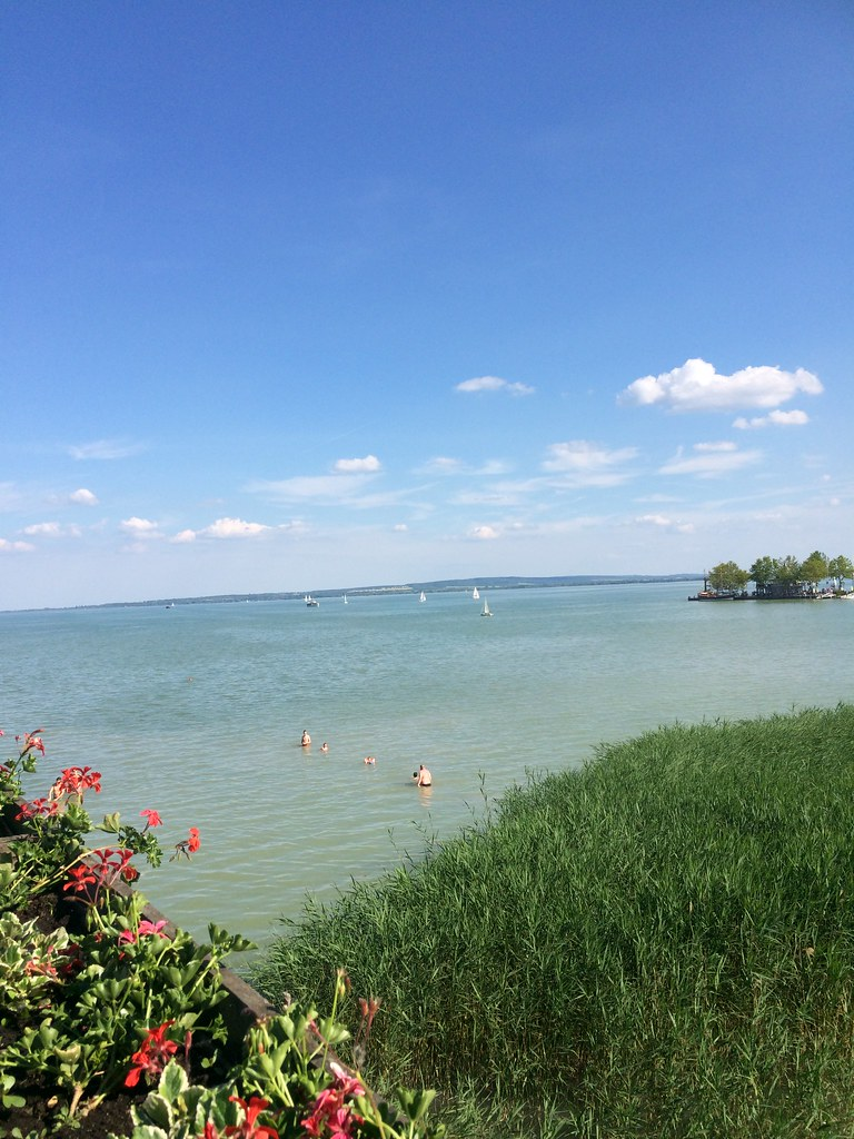 the lake balaton by - photo #13