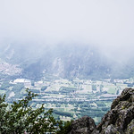 Clouds in Val Susa ( View from Rocca Sella )